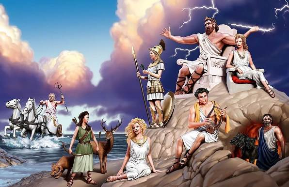 Ancient Greek mythology for children