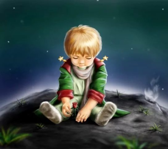 The Little Prince. The Tale by Antoine de Saint-Exupery